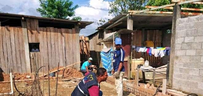 Avanza la construcción de 298 viviendas en San Lorenzo. Foto: Referencial