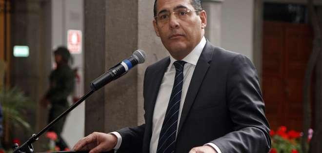 ECUADOR.- La gestión de Zambrano como ministro de Defensa, respecto de la frontera, fue duramente criticada. Foto: API