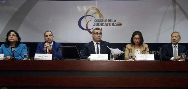 QUITO, Ecuador.- El plazo para las impugnaciones de la Judicatura ante el Consejo transitorio vence este 8 de junio. Foto: API