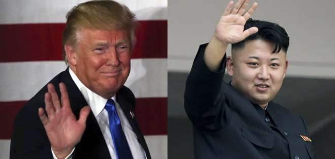 Trump dice que invitará a Kim a EEUU si la cumbre resulta bien. Foto: AP