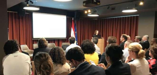 La presentación del informe se llevó a cabo en Hong Kong, Bruselas y Panamá. Foto: Tracit