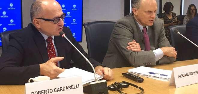 Organismo y las autoridades argentinas acordaron un préstamo por 50.000 millones de dólares. Foto: AP