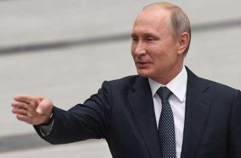 """El presidente ruso espera """"una fiesta llena de pasión y emoción"""" que sea """"inolvidable"""". Foto: Kirill KUDRYAVTSEV / AFP"""