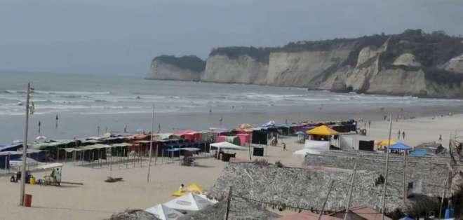 La desaparición de Quintana coincidió con un periodo de agitación del mar. Foto: Redes