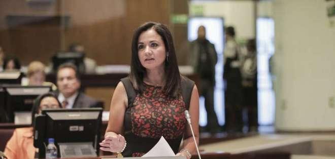"""ECUADOR.- Aguiñaga señaló que la titular del Legislativo """"no tiene competencia para pronunciarse"""". Foto: Archivo"""