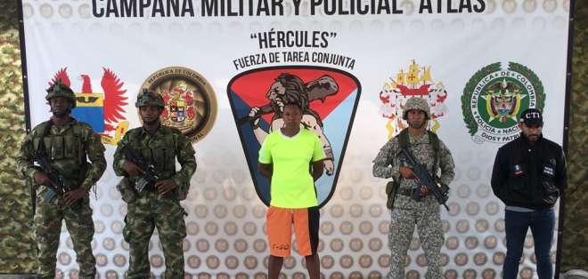 Fiscalía informó que 'Javier' será investigado por el delito de 'delinquir'. Foto: Cortesía Ministerio de Defensa.