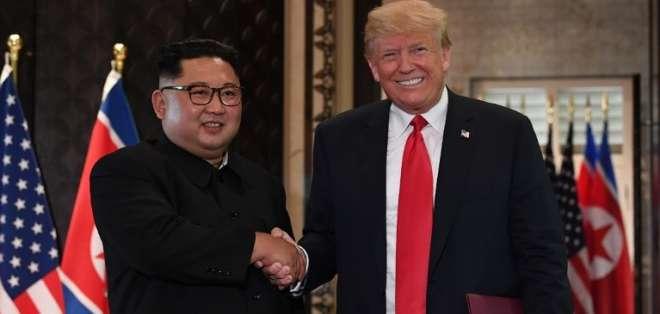 Seis cosas que enseñó la histórica cumbre entre Donald Trump y Kim Jong Un. Foto: AFP