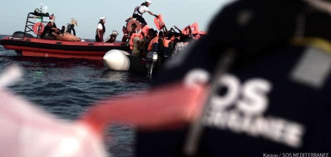 Estuvieron bloqueados por días en aguas internacionales por diferencias entre Italia y Malta. Foto: AFP