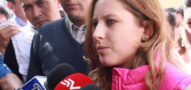 QUITO, Ecuador.- En un comunicado, Carla Cevallos dijo además que el departamento está alquilado. Foto: Archivo