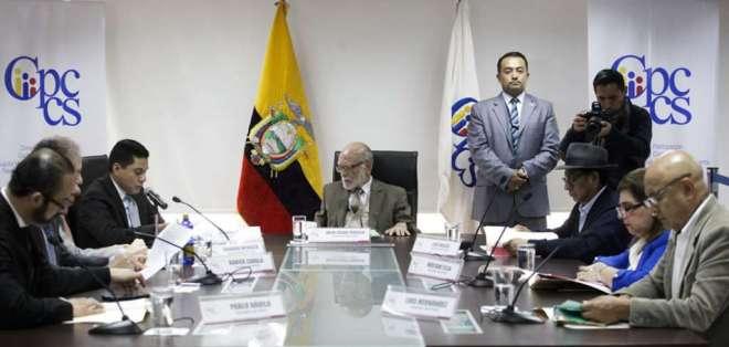 QUITO, Ecuador.- El pleno de organismo se reunirá este jueves para revisar informe final sobre funcionarios cesados. Foto: API