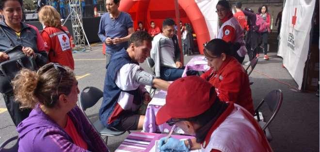 Día Mundial del Donante de Sangre: Un voluntario puede salvar la vida de hasta siete personas. Foto: Cruz Roja Ecuatoriana