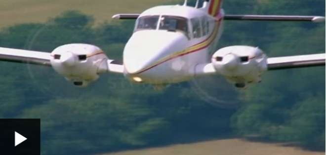 Así es el vuelo más corto del mundo que dura menos de 1 minuto
