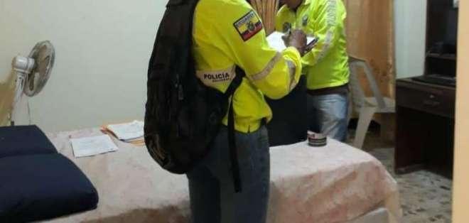 Detienen a exservidor de Contraloría por acceder a correos de funcionarios. Foto: Fiscalía Ecuador