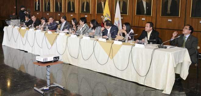 El informe no fue ni archivado ni aprobado por esa comisión. Foto: Asamblea