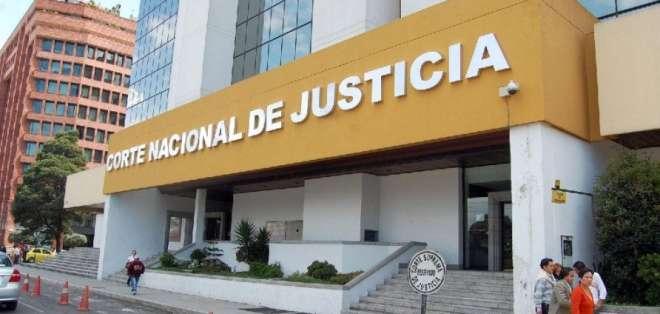La Corte Nacional de Justicia debe resolver el pedido de vinculación de la Fiscalía. Foto: Archivo