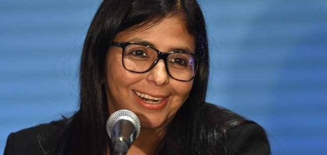 Delcy Rodríguez asumirá la dirección de la Constituyente, que estará por encima de cualquier poder.