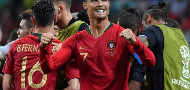 El delantero acumula 5 goles en los 4 mundiales que ha disputado. Foto: Nelson Almeida / AFP