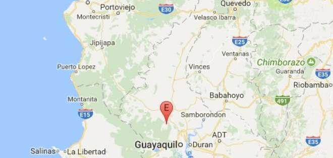 Registran sismo de magnitud 5 en Nobol, Guayas. Foto: Instituto Geofísico