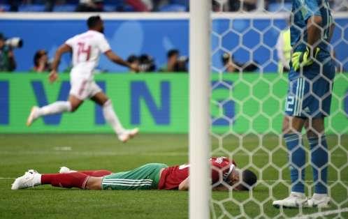 El equipo asiático lidera el grupo B a espera de lo que pase entre España y Portugal. Foto: CHRISTOPHE SIMON / AFP