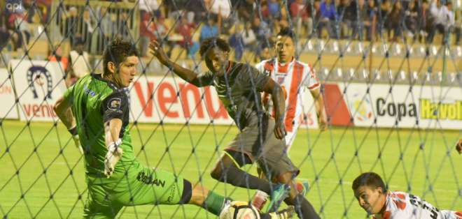 Anderson Julio hizo el único gol del compromiso a los 5 minutos. Foto: API