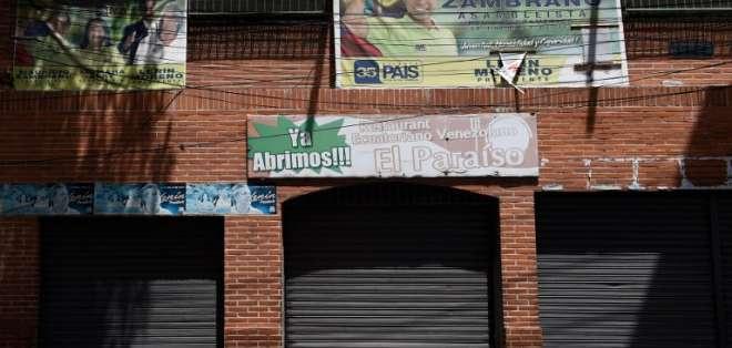 Según las autoridades, en el sitio se desarrollaba una fiesta que terminó en riña. Foto: AFP