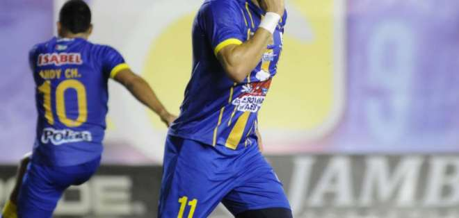 El delantero lleva 9 goles en el torneo nacional. Foto: API