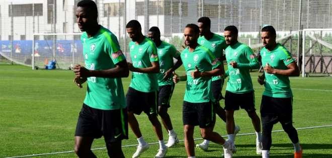 El equipo asiático jugará este miércoles en Rostov ante Uruguay. Foto: GIUSEPPE CACACE / AFP