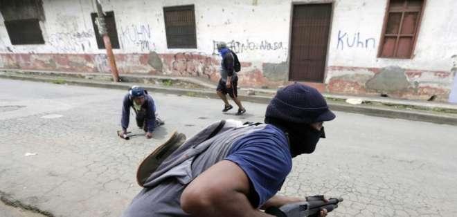 Operación dejó en de la ciudad de Masaya al menos 3 muertos. Foto: AFP