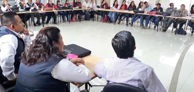 La actividad no incidirá en las vacaciones del primer quimestre. Foto: Ministerio de Educación.