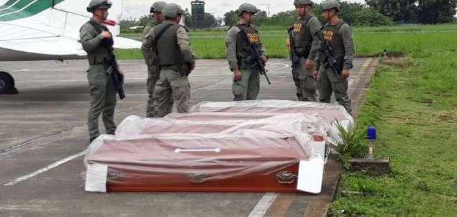 COLOMBIA.- Los restos hallados por autoridades de Colombia son trasladados a Cali para pericias forenses. Foto: @CronistaCalle