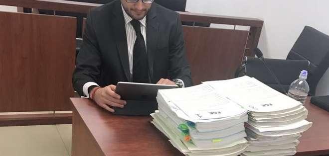 Exgerente de petrolera aceptó su participación en el delito de tráfico de influencias. Foto: Twitter Fiscalía