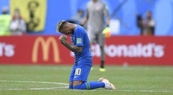 El brasileño llegó al Mundial con lo justo tras recuperarse de una lesión. Foto: GABRIEL BOUYS / AFP