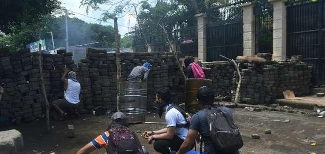 Informe de CIDH reporta 1.337 heridos y 507 personas privadas de la libertad. Foto: AFP