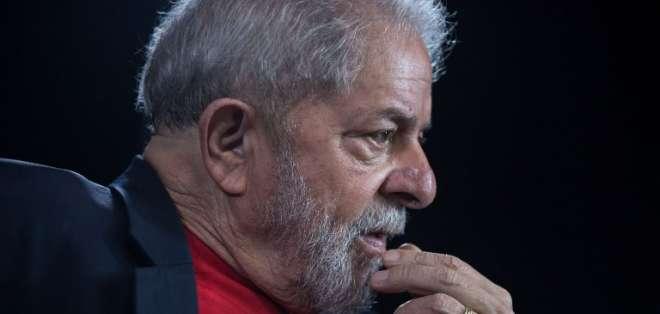 El expresidente cumple desde abril una condena de 12 años en Curitiba. Foto: AFP