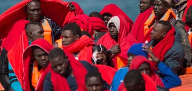 Rescatan a más de 750 migrantes frente a las costas españolas. Foto: AFP