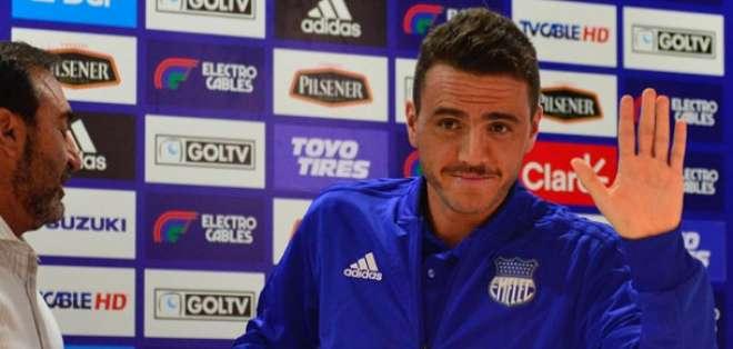 Mariano Soso funge como DT de Emelec desde hace un mes. Foto: ecuagol.com