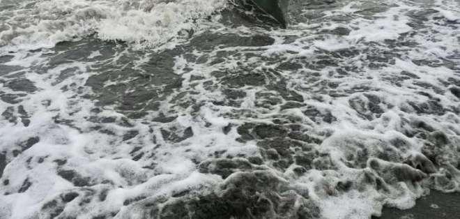 Localizan un semisumergible en la frontera norte. Foto: Armada Ecuador