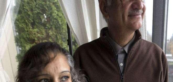 Suman y Manjit Virk hicieron campaña contra el acoso escolar.