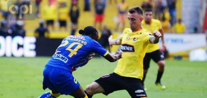 GUAYAQUIL, Ecuador.- Damián Díaz sentenció el resultado con su cuarto gol. Foto: API