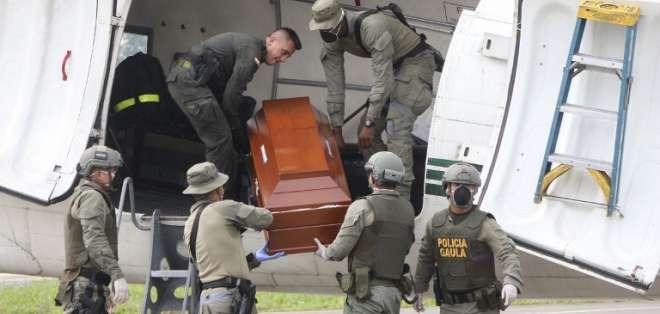 Cuerpos de periodistas asesinados podrían llegar al país el 26 de junio, según familiares. Foto: AFP