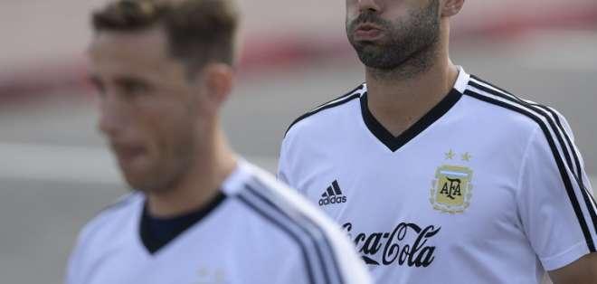 La selección argentina se disputará su continuidad en el Mundial este martes 26 de junio. Foto: AFP