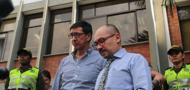 COLOMBIA.- Los familiares de los periodistas ecuatorianos se quejaron del manejo informativo. Foto: Twitter