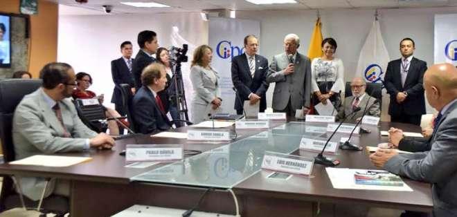 Hermano de Lenín Moreno, nuevo fiscal provincial de Napo. Foto: Consejo de la Judicatura