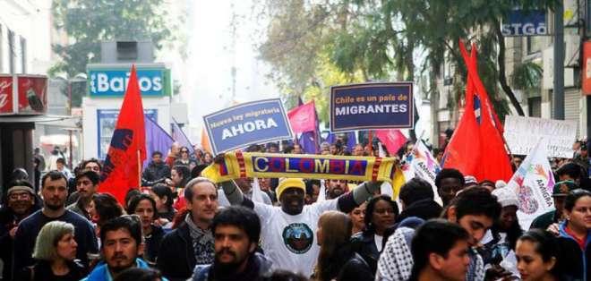 Unos 2.000 extranjeros serán expulsados de Chile este año. Foto: t13.cl/