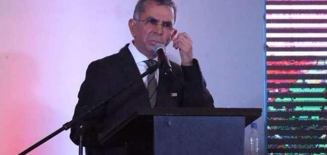 Prefecto de Manabí se defiende de acusaciones de corrupción. Foto: Twitter