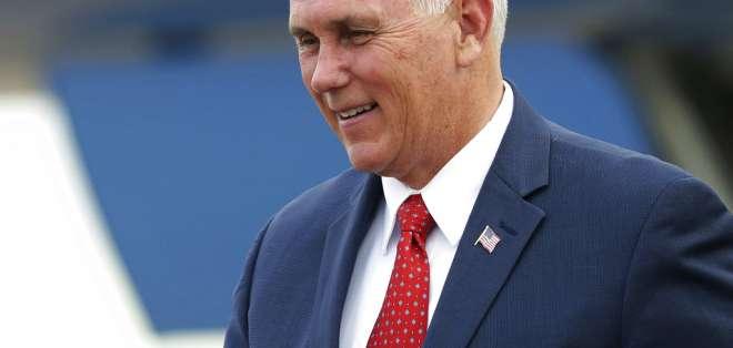 Gobierno hará propuesta al vicepresidente de EE.UU., Mike Pence, en visita a Quito. Foto: AP