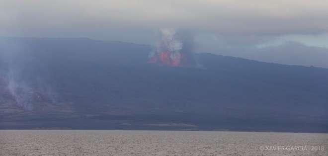 Las personas de la zona alta en isla Isabela fueron evacuadas, informó la gobernadora. Foto: Twitter Tarsicio Granizo