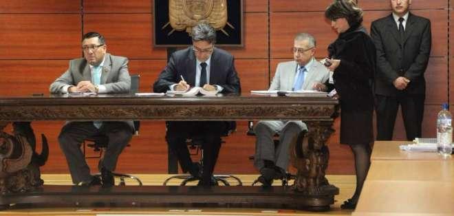QUITO, Ecuador.- El extitular de la Senain fue capturado en España y permanece con medidas cautelares. Foto: Fiscalía