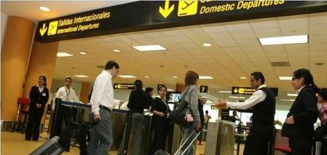 El tráfico aéreo internacional de pasajeros creció un 11% en la Comunidad Andina.
