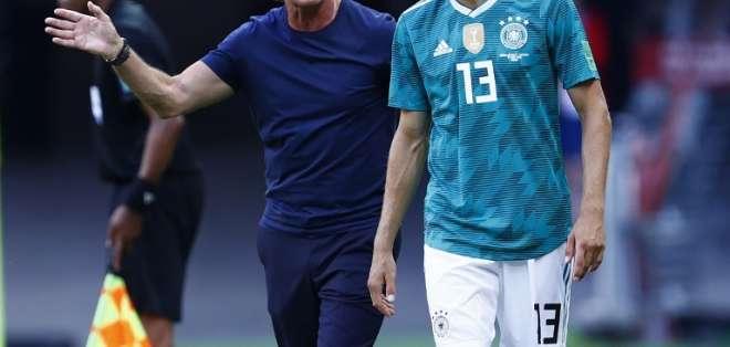 El entrenador alemán dijo que se tomará un tiempo para definir su fututo. Foto: BENJAMIN CREMEL / AFP